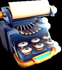 TYPE WRITER small